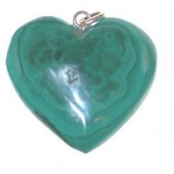 Coeur en Malachite
