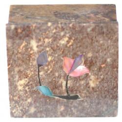 Boîte carrée en Stéatite