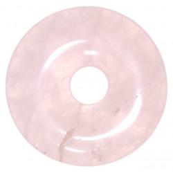 Quartz rose donut